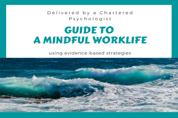 Guide to a Mindful Worklife - poster