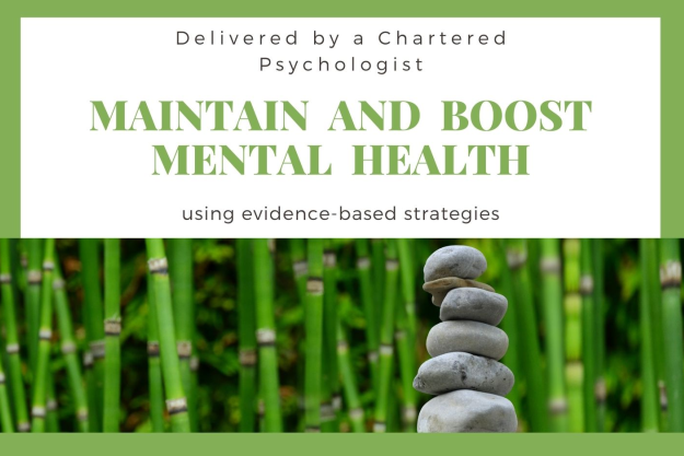 Maintain and Boost Mental health - poster